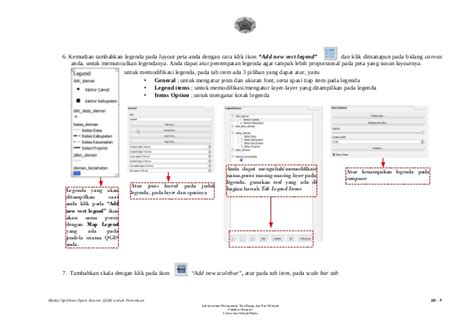 cara membuat layout qgis modul qgis