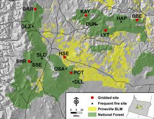 map of oregon fires central oregon history fuel and smoke
