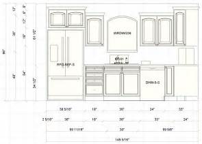 Standard Kitchen Cabinet Measurements by The Common Standard Kitchen Cabinet Sizes That Must Be