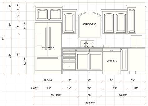 kitchen design measurements pin kitchen elevation dimensions on pinterest