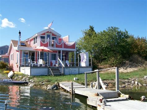 Waterfront Cottage Rental by Plum Island Waterfront Cottage Homeaway Usa