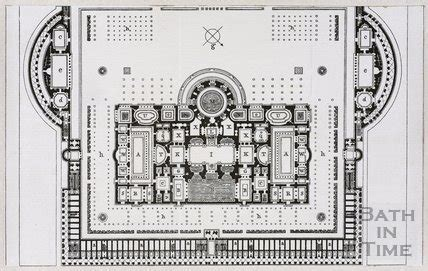 baths of caracalla floor plan plan of the baths of caracalla in rome by 10524 at bath in