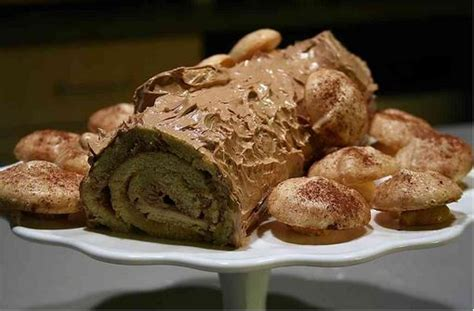 traditional yule log traditional corsican chestnut yule log recipe mostly