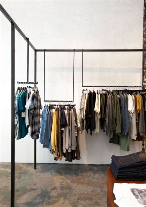 Shop The Rack 17 Best Ideas About Clothing Store Interior On