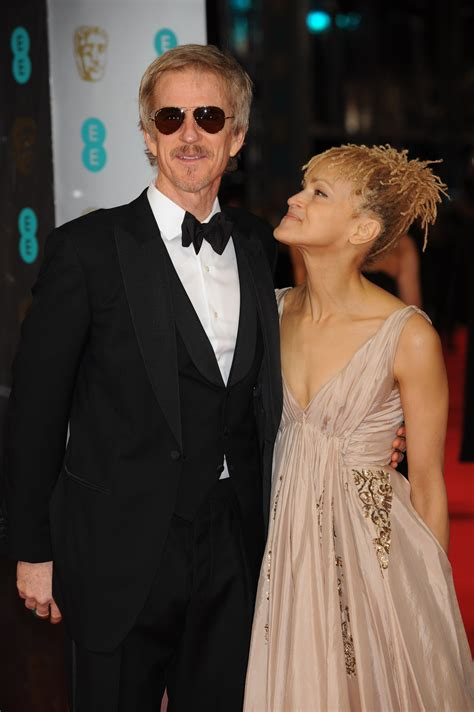 matthew modine oscar matthew modine with wife caridad rivera on the bafta