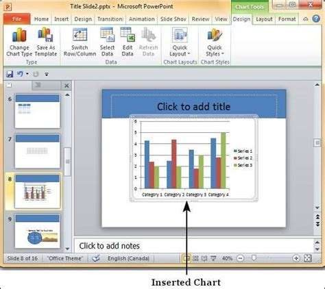 format excel table in powerpoint add format charts in powerpoint 2010
