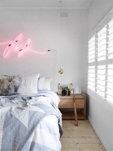 bedroom neon lights neon home