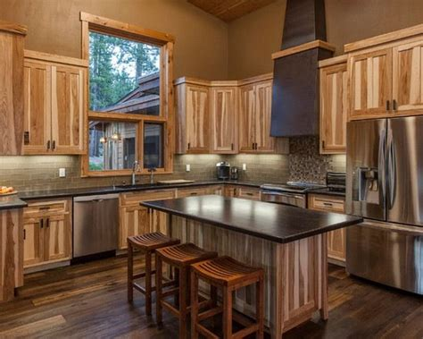 rustic hickory kitchen cabinets 13 best ideas for the house images on pinterest rustic