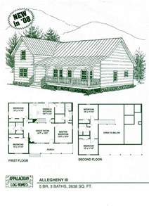 Log Home Floor Plans With Pictures by Log Home Floor Plans Log Cabin Kits Appalachian Log Homes