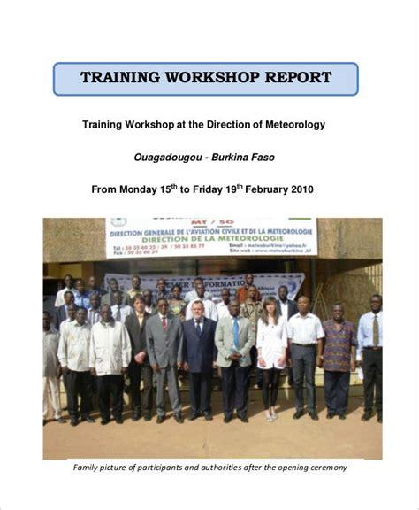 workshop report template word report staff report template sle staff report template 6 documents in