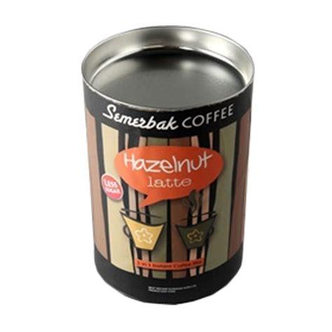 Kemasan Kaleng jual semerbak coffee kemasan kaleng hazelnut latte