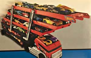 Wheels Truck That Holds Cars Hotwheels Mega Hauler 20 Hotwheels Cars Holds Upto 50 Cars