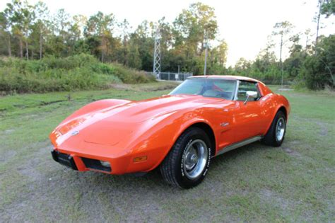 1975 chevrolet corvette stingray l48 coupe c3 t top 5 7l must see call now classic chevrolet 1976 chevrolet corvette stingray l48 coupe c3 5 7l t top v8 must see call now for sale in