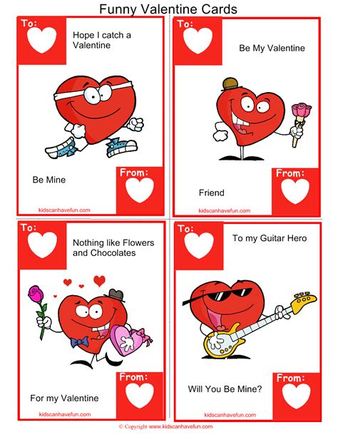 printable funny valentines day greeting cards funny valentine cards kidscanhavefun blog