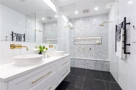 family bathrooms the block 2016 family bathroom photos popsugar home