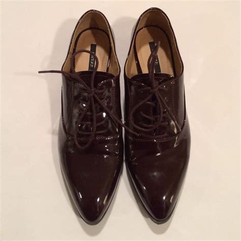 forever 21 oxford shoes 74 forever 21 shoes forever21 patent burgundy
