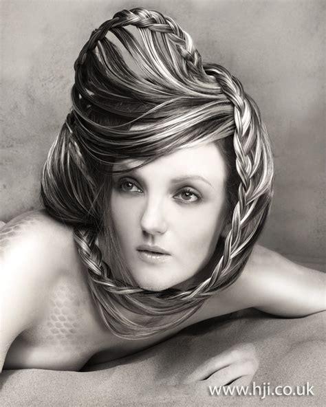 avant garde haircuts for men w thin hair 2012 avant garde plaited womens hairstyle
