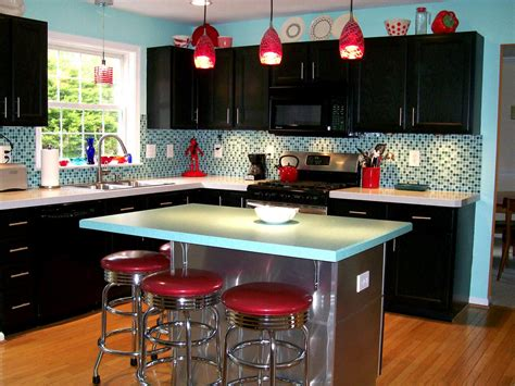 Tiny Kitchens Ideas by Retro Kitchen Cabinets Pictures Options Tips Amp Ideas Hgtv