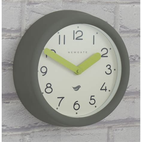 Newgate Pantry Clock by Newgate Pantry Wall Clock Clockwork Grey Free Uk Delivery