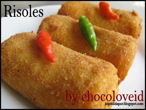 Risoles Rogout Ayam N Smoked Beef recipe from my kitchen risoles keju daging asap