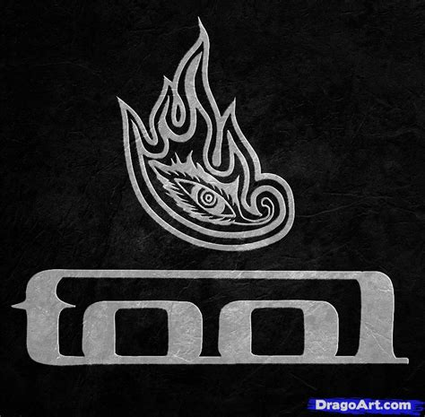 tool logo pics how to draw tool tool logo step by step band logos pop culture free drawing tutorial