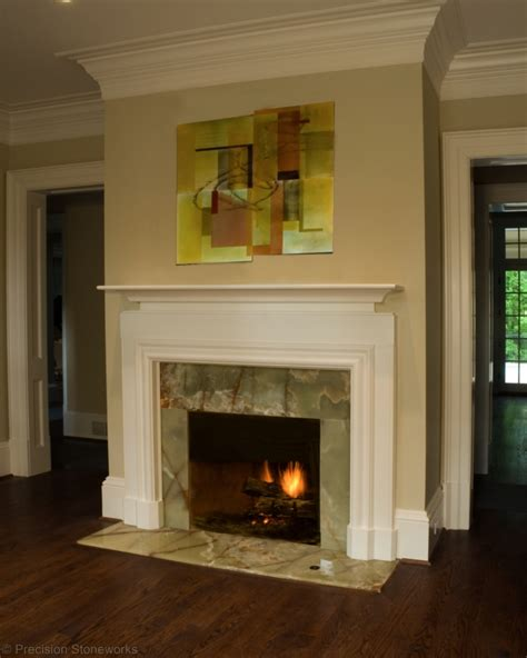Fireplace With Granite by Granite Fireplaces Neiltortorella