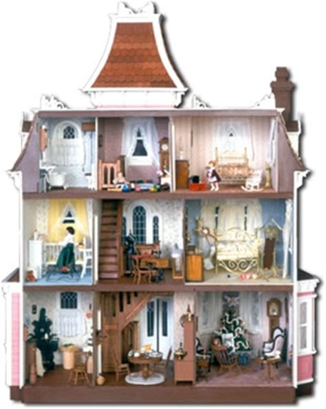 inside a doll house so i was thinking about dollhouses pez a doodle designs