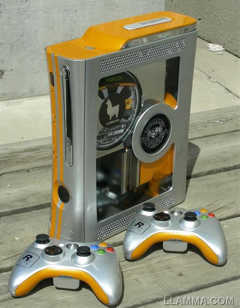 game consoles mod 1 8 images of xbox game llamma edition custom xbox 360 mod