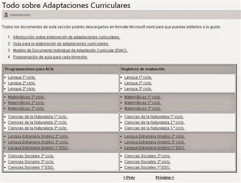 Modelo Adaptacion Curricular Ingles Primaria Gu 205 A Para La Elaboraci 211 N De Adaptaciones Curriculares En Educaci 211 N Primaria Adaptaciones