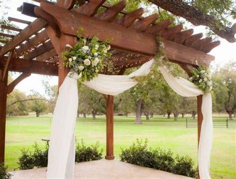 best 25 wedding pergola ideas on floral wedding decorations diy wedding arch ideas