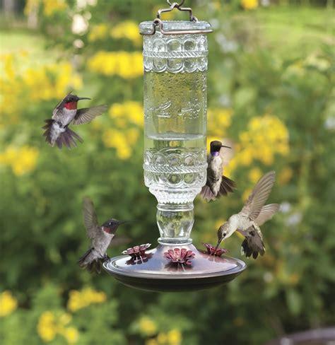 beautiful hummingbird feeder unique bird feeder