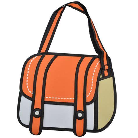 2D Cartoon Bags   So That's Cool