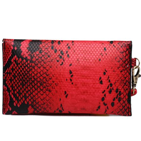 pattern envelope clutch e0501 miss lulu small snakeskin pattern envelope purse