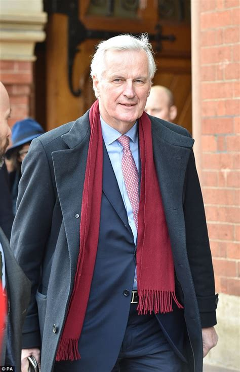Cabinet Barnier by Eu S Barnier Urges Faster Progress In Brexit Talks Daily