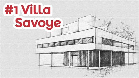 villa savoye floor plans pen by nahekul flickr famous architectural drawings home design