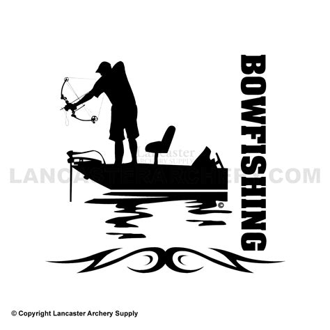 bowfishing tattoos bowfishing decals outdoor decals bowfishing ideas