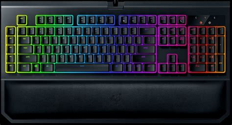 Razer Blackwidow Tournament V2 Chroma Orange Switch razer blackwidow chroma v2 gaming keyboard review eteknix