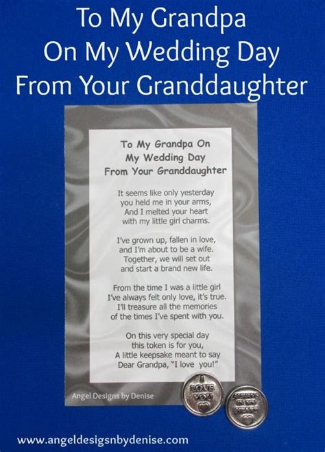 7 Ways To On Your Wedding Day by To My From Your Granddaughter On My Wedding Day