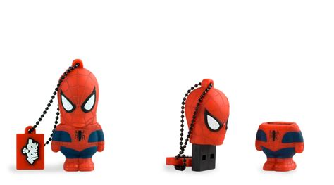 Spiderman marvel tribe usb flash drive by maikii retail ision