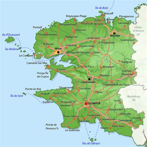 Appartement à Plougonvelin, location vacances Finistère : Disponible pour 4 personnes