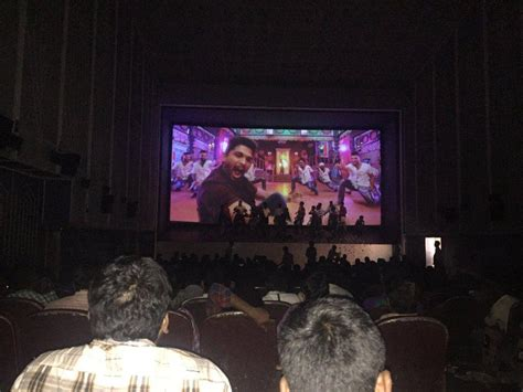 home entertainment fans sarrainodu fans hangama in theater photos