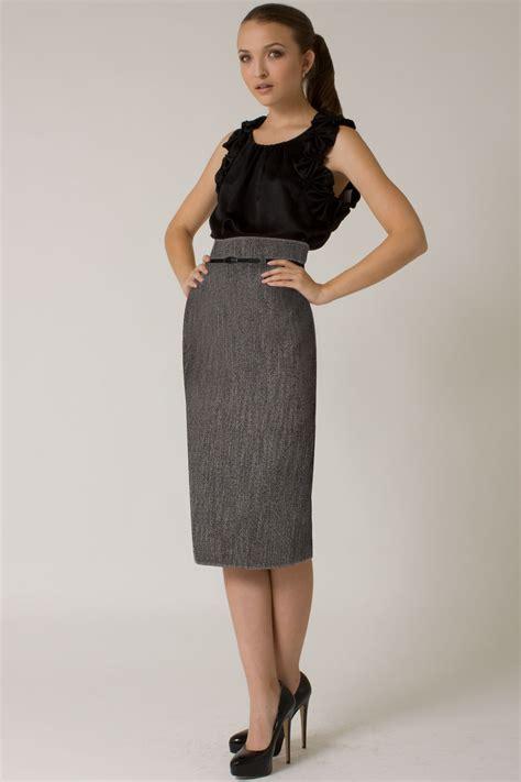 Maxi Pencil Skirt Exclusive black halo high waist tweed pencil skirt exclusive