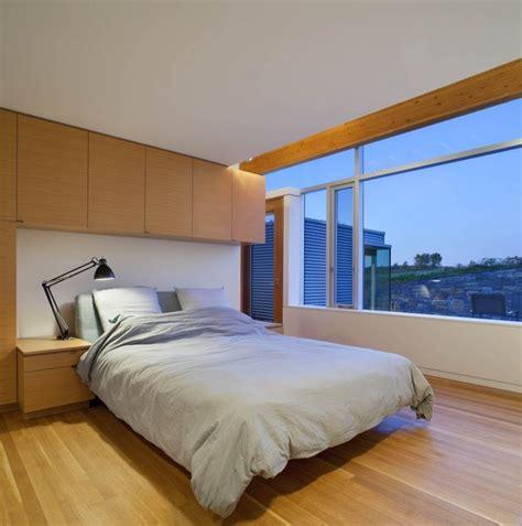 nachhaltige hausarchitektur in kanada fasziniert mit - Modernes Minimalistisches Schlafzimmer