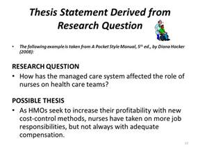 Dissertation Research Question Apa Pointers How To Organize Amp Format Research Papers