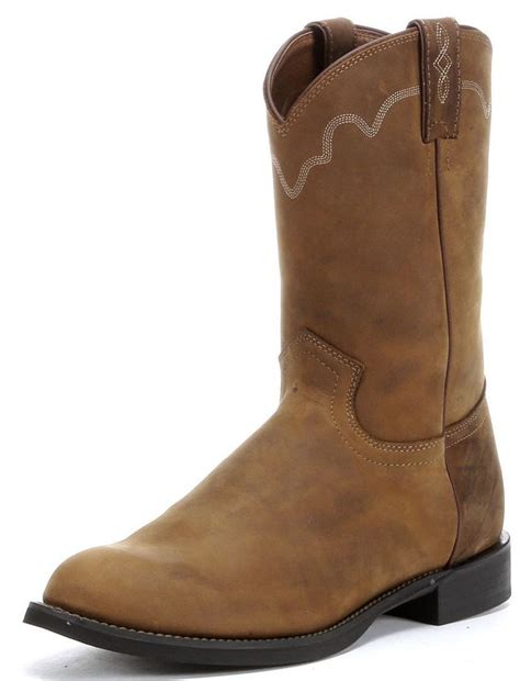 mens cowboy boots ebay mens justin roper western cowboy boot 3902 ebay