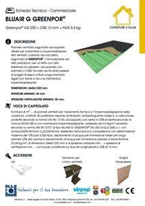 Pannello Osb Scheda Tecnica by Pannello Termoisolante In Derivati Legno Bluair G