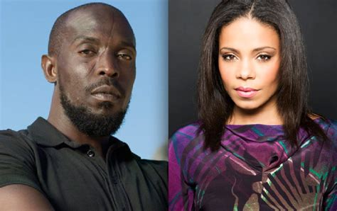 michael k williams sanaa lathan rhymes with snitch celebrity and entertainment news