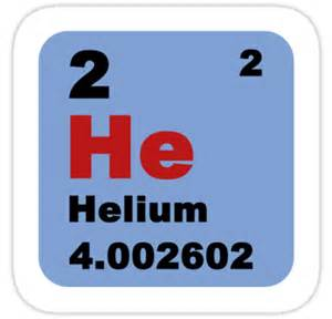 quot periodic table of elements no 2 helium quot stickers by