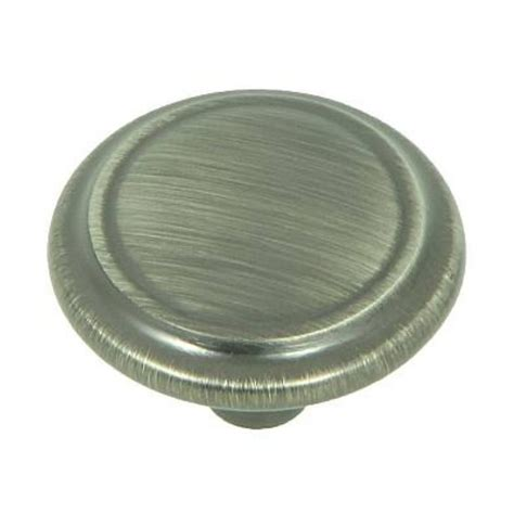 weathered nickel cabinet hardware shop mill hardware sidney weathered nickel cabinet knob at lowes