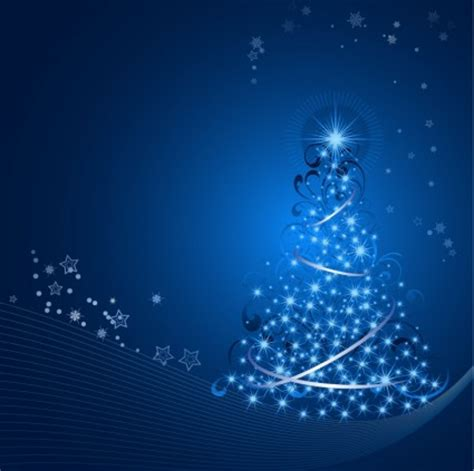 background natal biru latar belakang pohon natal vektor misc vektor gratis